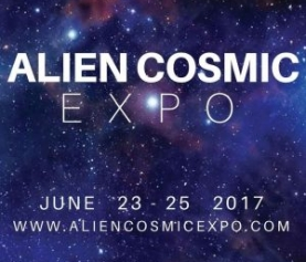 ALIEN COSMIC EXPO  June 23-25 2017 Toronto Canada