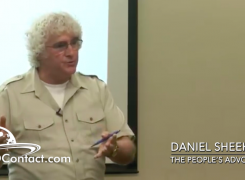 Daniel Sheehan: The Trajectory of Justice in America lecture series