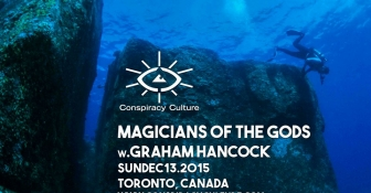 Graham Hancock in Toronto,  December 13, 2015